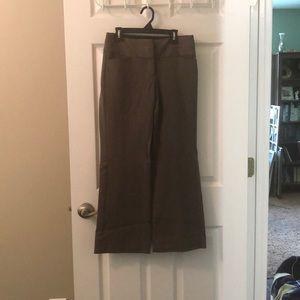 Dark tan dress pants